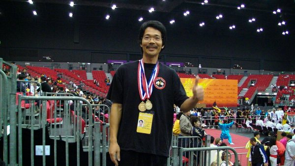 Sam Jian won the Tai-Chi championship