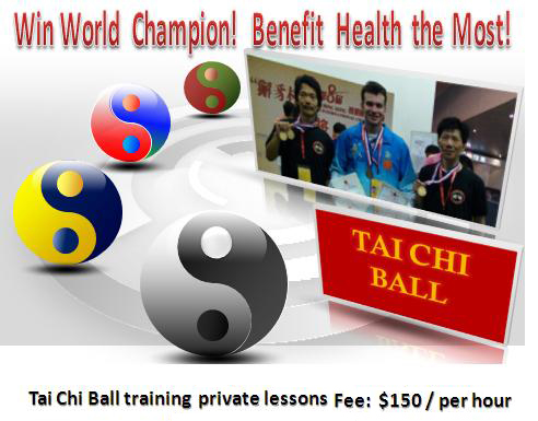 Tai Chi Ball Training