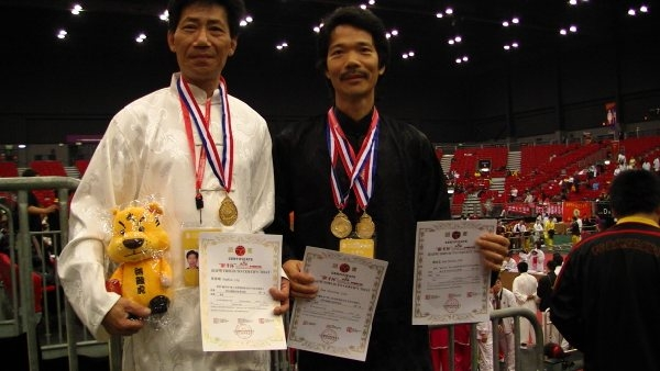 Samson Yip and Sam Jian came first in the 'Weapons Duel""