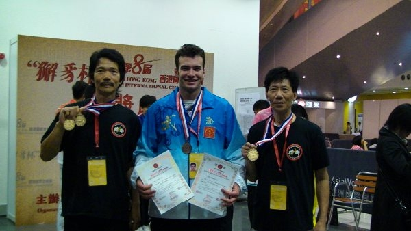 Three Gold Medals and 3rd, 4th places
